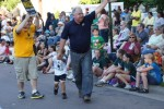 Tim Walz in parade