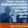 Rick Nolan veterans
